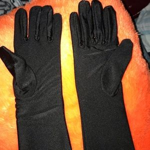 Long sleeve party gloves